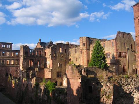 Heidelberger Schlossruine