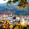 Ausblick vom Schlossberg in Freiburg